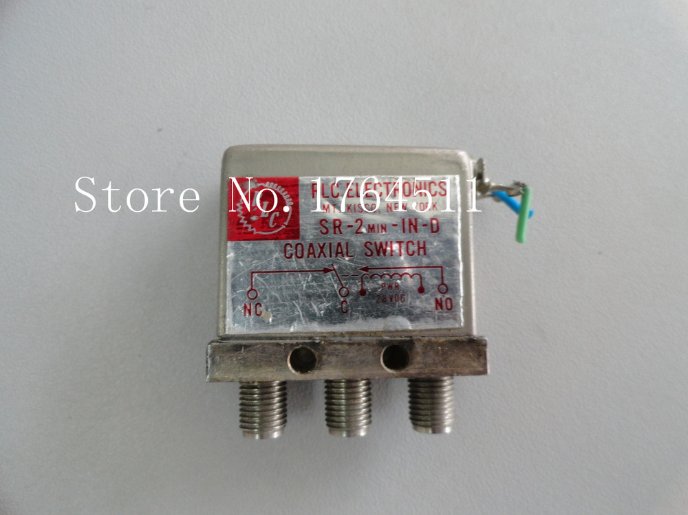 [BELLA] Supply RLC SR-2MIN-IN-D SPDT DC-18GHZ 28V
