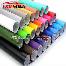 Autocollant mat pour carrosserie de voiture, feuille demballage auto adhésive, Film demballage en vinyle, Premium