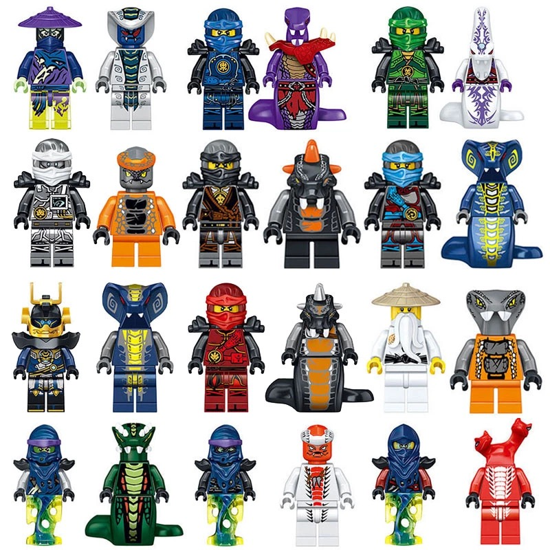 Герои лего ниндзя го картинки с названиями