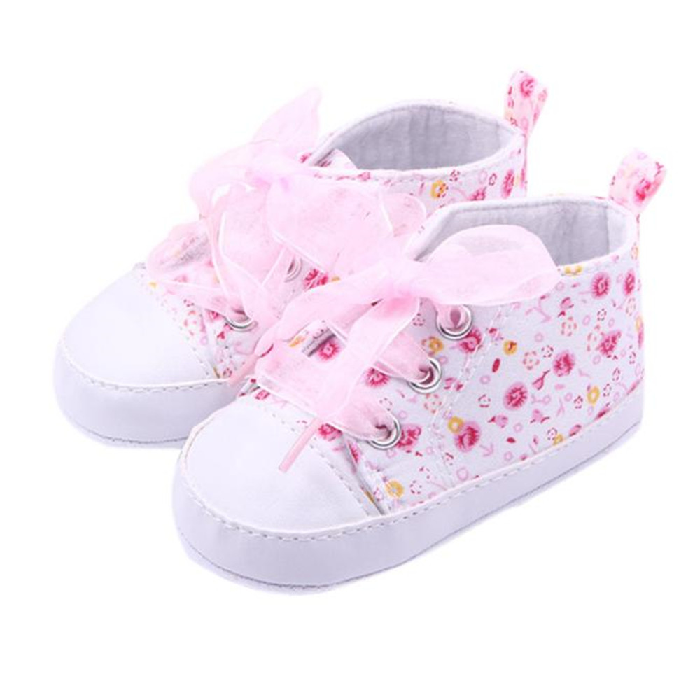 SAGACE 2018 Hot Girls Floral Soft Soled Shoe Infant Toddler Walking Sneaker Girls Kids C ...