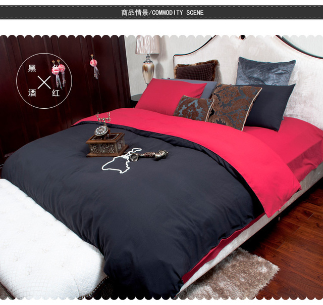 Mens Quilt Cover Sets Black Comforter Sets Twin Queen King Size Designer Bed  Sheets Oil Painting/home Textile Fitted Sheet