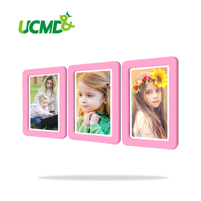 Magnetic Picture Frames Fridge Magnets Refrigerator Decor Flexible