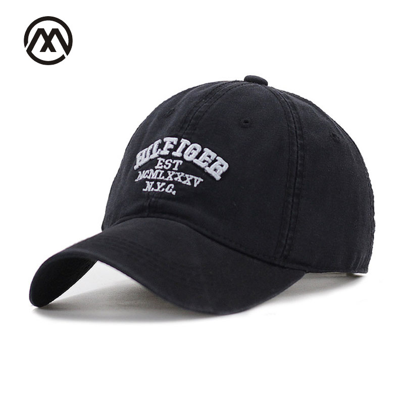 Spring New Cotton Mens  NYC Letter embroidery Hat Unisex Women Men Leisure Baseball Cap adjustable Snapback Casual Caps cotton baseball cap for women men 5 panel vintage letter casual dad hat washed adjustable baseball hat unisex type mx01
