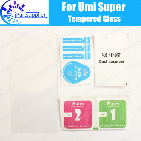 Umi Super Tempered Glass 100% New Good Quality Premium 9H Screen Protector Film Accessories for Umi Super