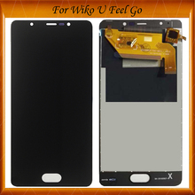 5.0''For Wiko U Feel Go LCD Display And Touch Screen Assembly Repair Part Mobile