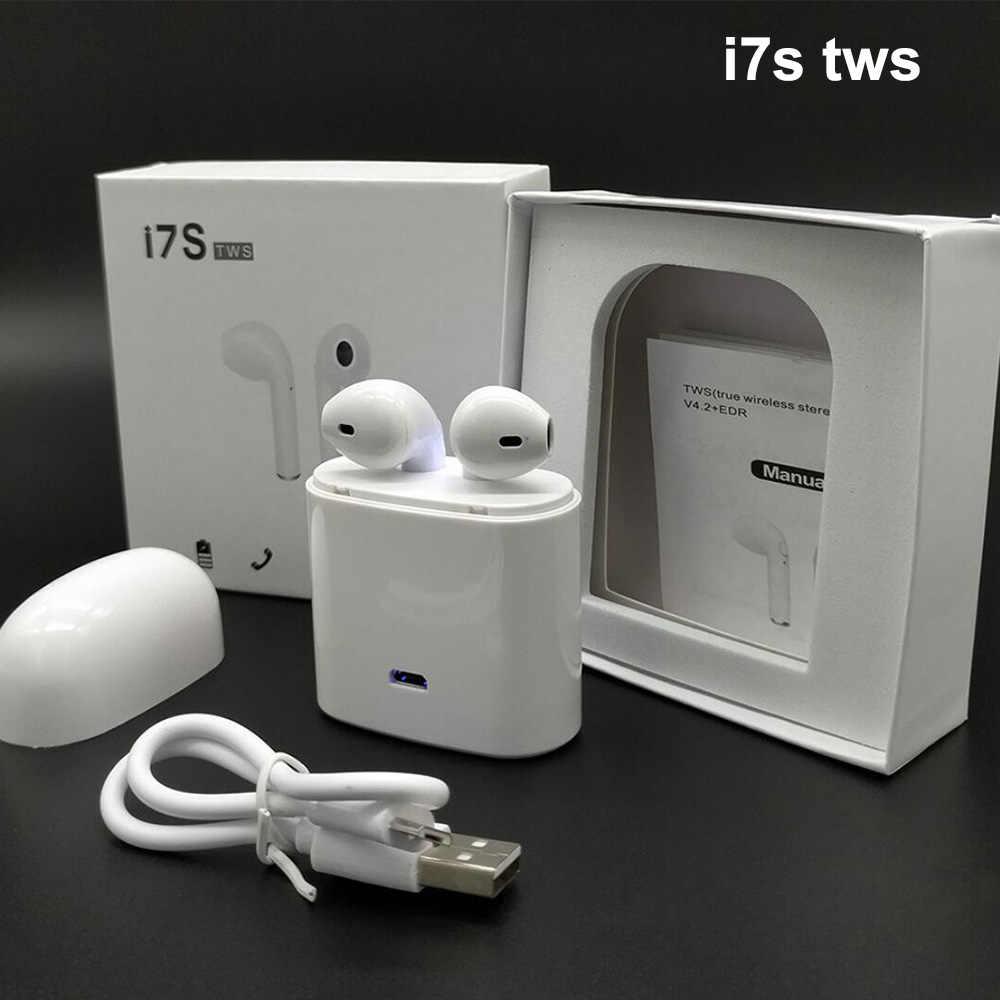 27e8a7a45e6 ... i10 i9s i7s TWS Earphone Bluetooth Earpiece Wireless Earbuds Air headset  pods headphone ear pods for