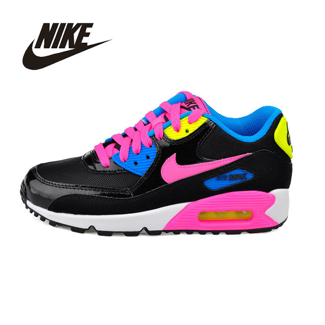 innovative design 9f643 c4358 NIKE Air Max 90 Original Womens Running Shoes Stability High Quality  Support Sports Sneakers For Women