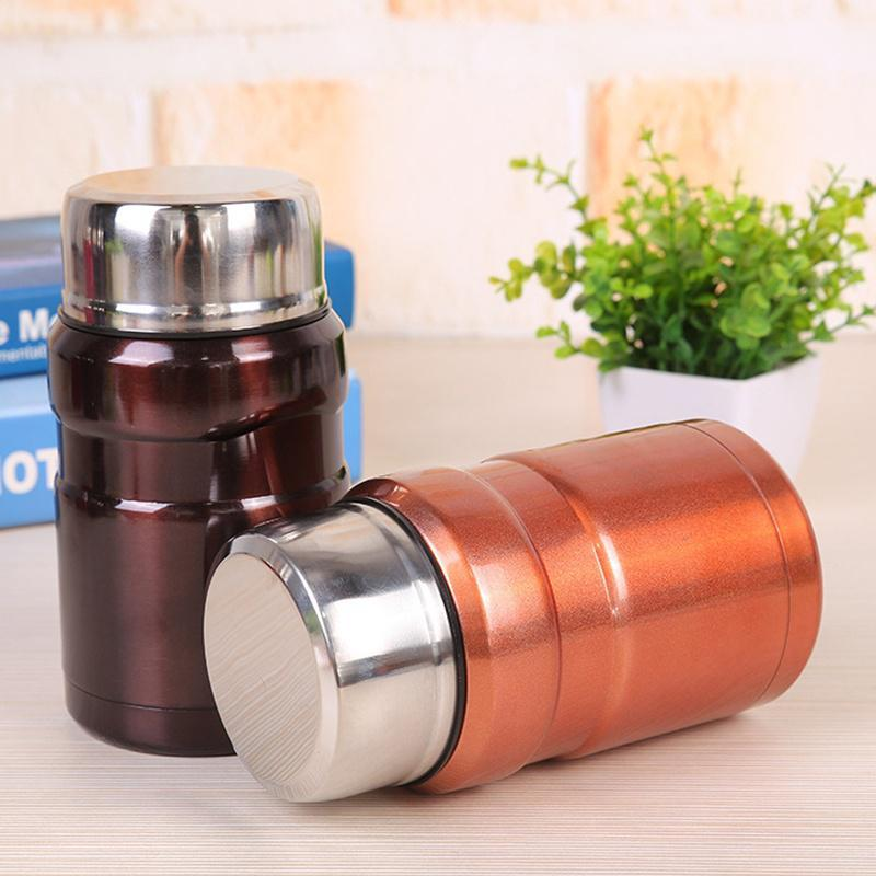 550ml/700ml Thermal food jar 19-ounce hot and cold stainless steel vacuum lunch box insulated mug
