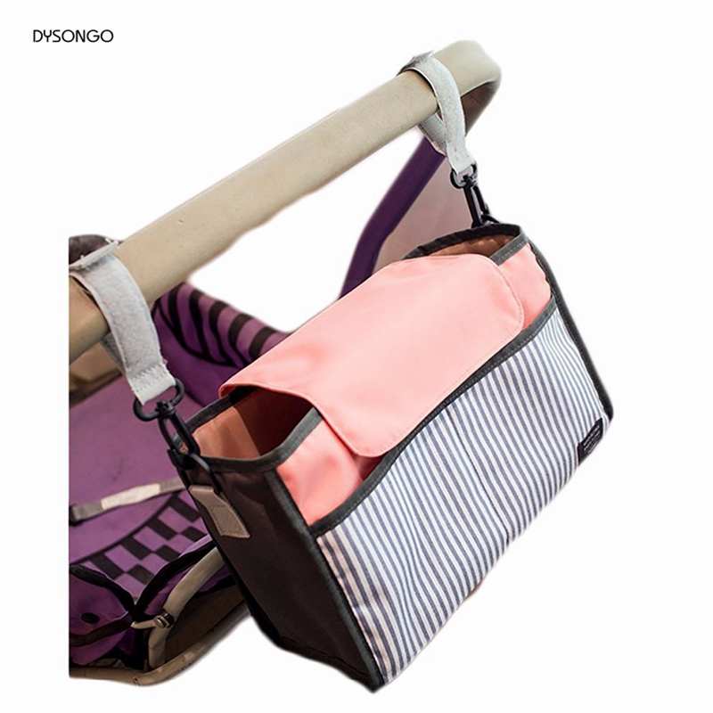 DYSONGO Free Shipping Fashion Baby Diaper Bag Large Capacity Mummy Bag Multi function Nappy Bags Baby
