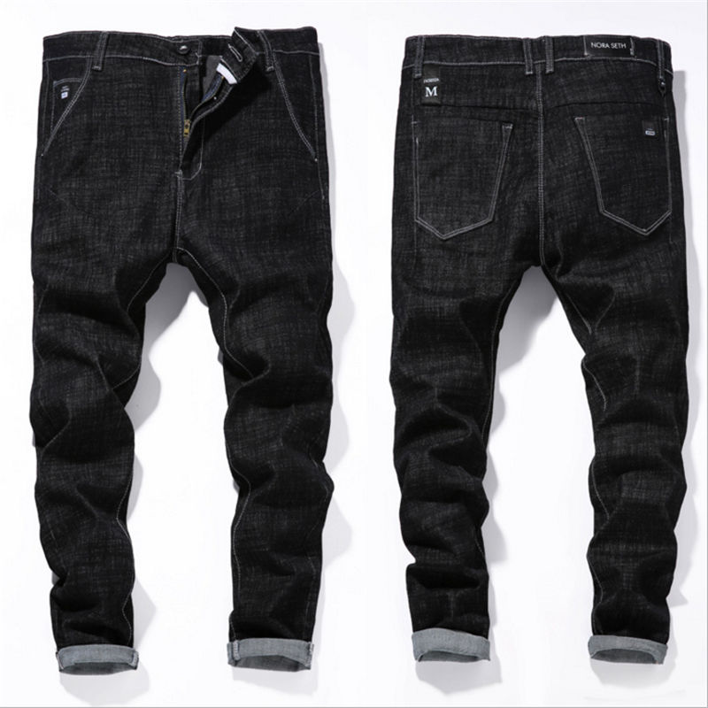 Mens Jeans Casual Stretch Slim Jeans Classic Trousers Denim Pants Male streetwear Man Jean Masculina Hombre Clothes