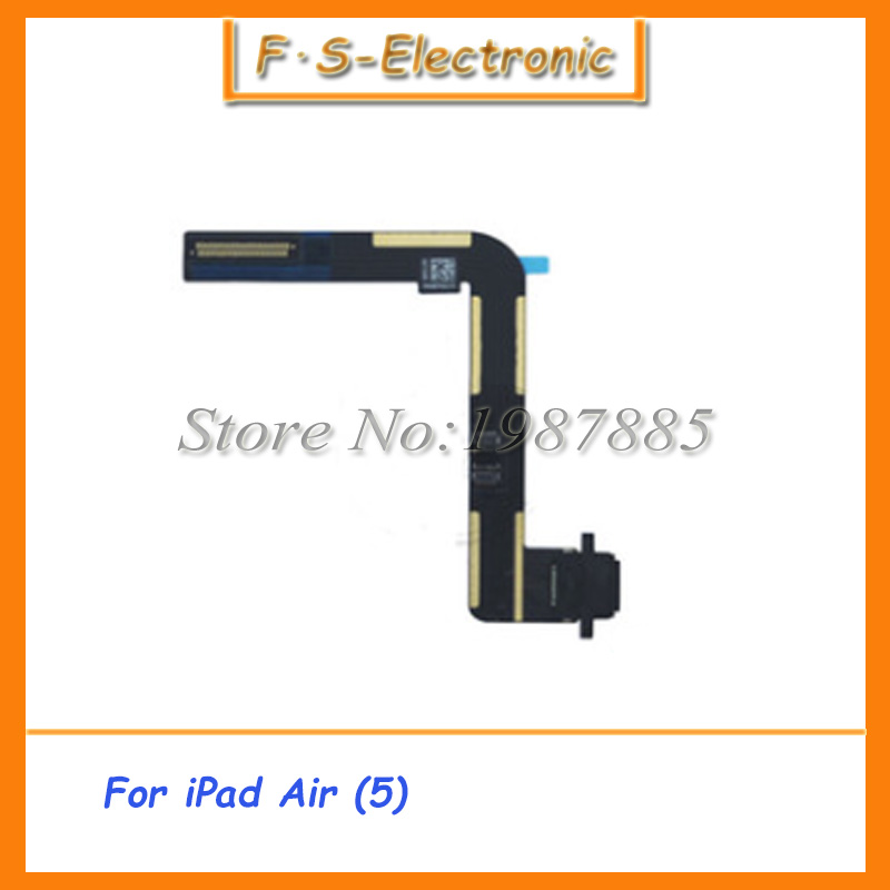 10pcs New Original High Quality Dock Connector Charging Port Flex Cable For iPad Air 5 USB Charger Connector Port Plug Cable