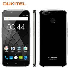 NEW OUKITEL U22 3G Smartphone 5.5 Inch Fingerprint Android 7.0 MTK MT6580 Quad Core 2GB RAM 16GB ROM 2 Back Cameras Mobile Phone
