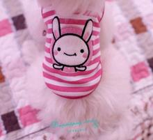 New Embroidery Puppy Clothes Cute Pattern Spring Summer T Shirt Pet Dog Cat Clothes Dog Supplies Dog Vests 2016 New