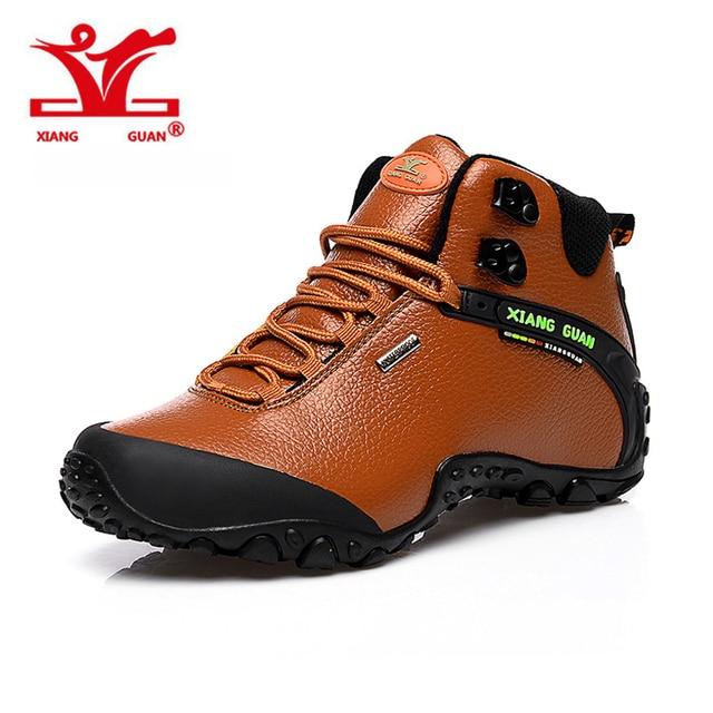 a06de4d89e XIANG GUAN Hombre Senderismo zapatillas al aire libre turismo de escalada  trekking de montaña deporte de. Sitúa el cursor encima para ...