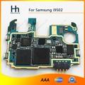 100% bem trabalho placa de desbloqueio wcdma 3g motherboard placa principal para samsung galaxy s4 i9502 32 gb frete grátis