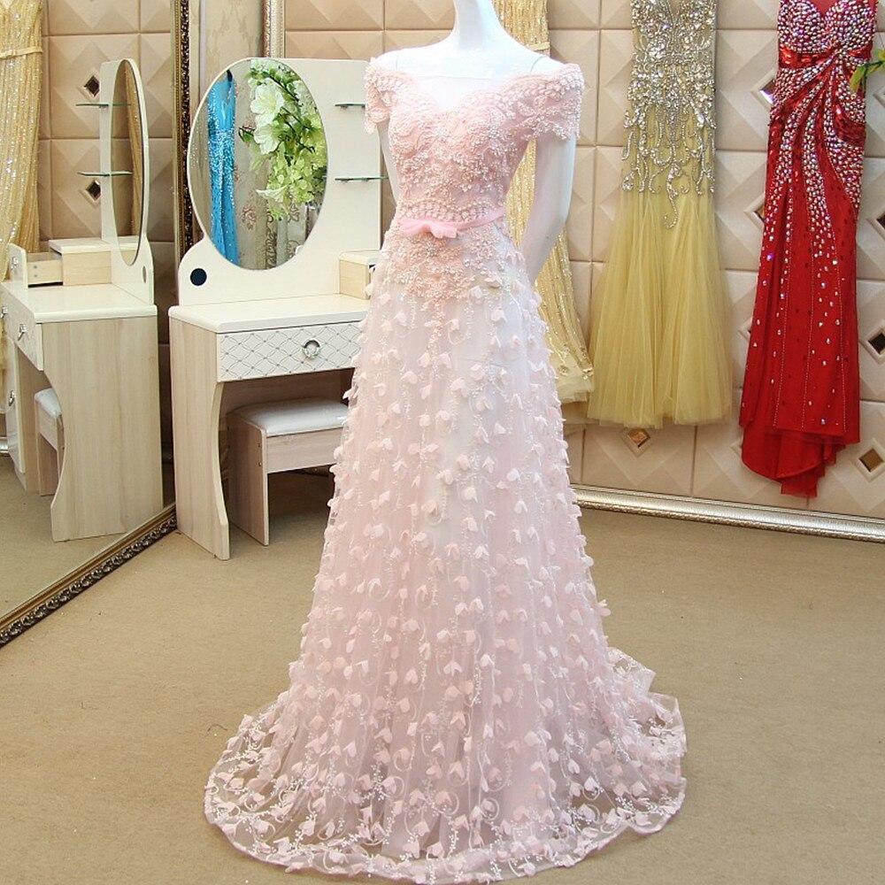Nude Rosa Blumen Schmetterling Perlen Spitze Fashion Real Sample ...