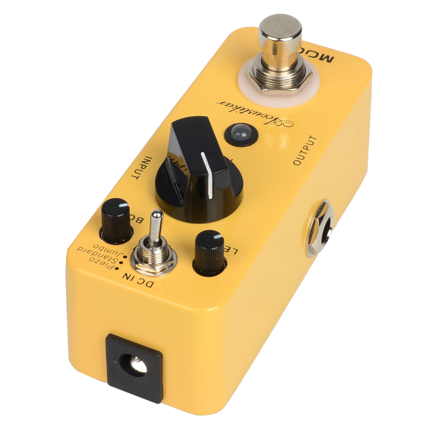 Mooer Acoustikar Guitar Simulator Electric Guitar Effect Pedal Metal Shell True bypass MAC1 nux roctary force simulator polyphonic octave stomp boxes electric guitar effect pedal fet buttered tsac true bypass