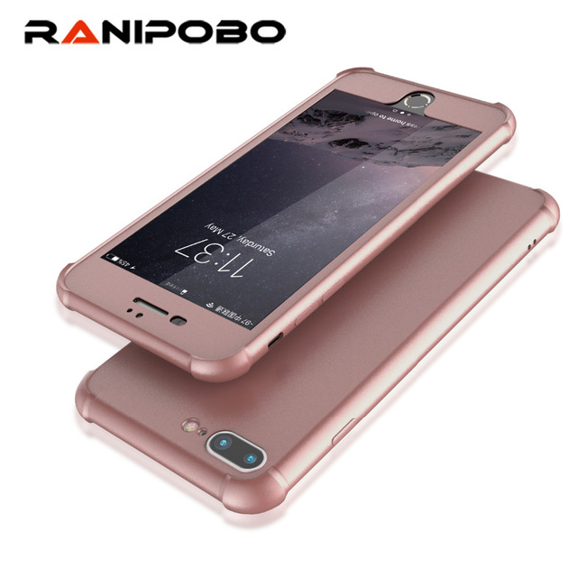 hot sale online 75ad7 32315 US $3.11 |Luxury Rose Gold Phone Case for Apple iphone 6 6s Plus 2 in 1  Front Back 360 Full Body Protective Phone Cases For iphone 6 Plus-in Fitted  ...