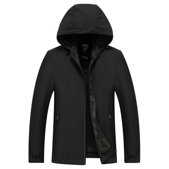 2019 New Casual Hooded Veste Homme Thin High Quality Men Wind Breaker