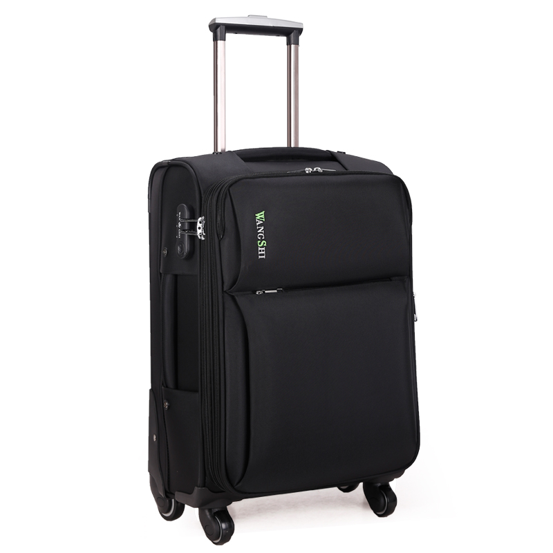 Trolley luggage travel bag luggage sub trunk universal wheels 20 24 28 password box
