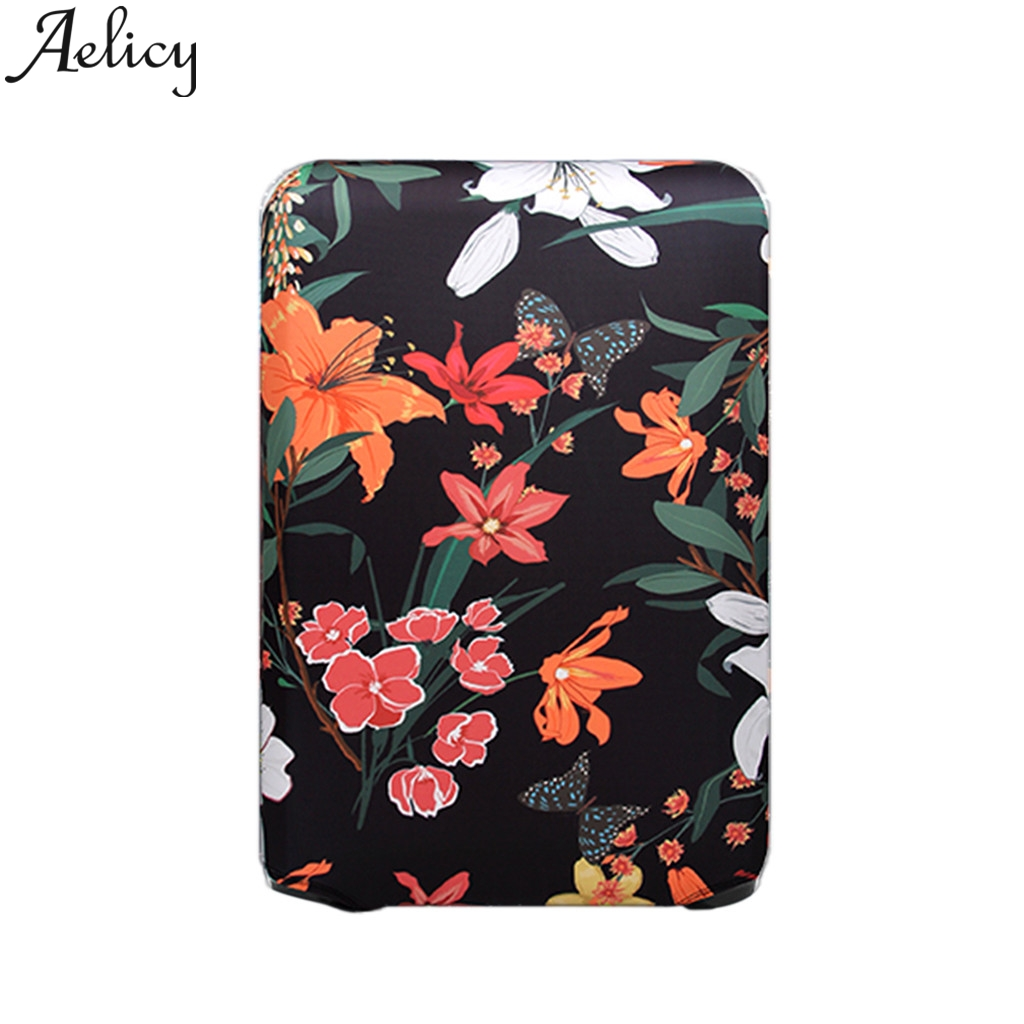 Protective-Cover Cases Luggages Trolley Aelicy for 18-32inch Waterproof Elastic Thicker