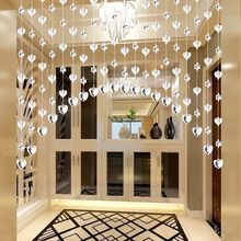 20pcs Pearl Curtain Decorative Partition Living Room Beauty Courtyard Door Wedding Room Restaurant Diy Screen Divider Decoration(China)