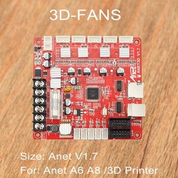 Aktualizacja wersji! Anet A8 A6 płyta główna płyta sterowania płyta główna DIY samodzielny montaż do RepRap 3D drukarka standardowa DIY Kit
