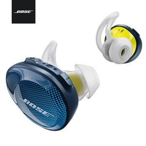 Image 1 - Bose Hoofdtelefoon SoundSport Gratis Echte Draadloze Bluetooth Oortelefoon TWS Oordopjes Transpiratie Sport Headset Muziek Oortelefoon met Microfoon