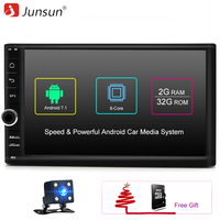 Junsun Universal 2 Din Android 7 1 Car Multimedia Play GPS Navigation Tap PC Tablet For