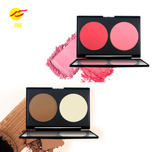 NOVO two color long-lasting Bronzer oil-control concealer Highlighter face makeup Powder palette make up