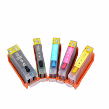 Full Ink Refillable cartridge PGI-5BK For canon iX4000 ix5000 MX700 MX850 MP500 MP510 MP520 MP530 MP600 with Chips