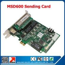 Nova LED couleur carte d'envoi MSD600 2048*1152 pixel affichage vidéo signe carte de contrôle Boad avec 1 Interface de capteur de lumière