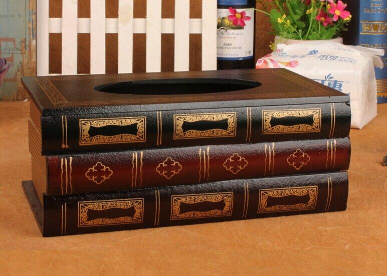 Kutia e indeve retro Simulimi i kutive prej druri antike evropiane - Magazinimi dhe organizimi në shtëpi - Foto 4