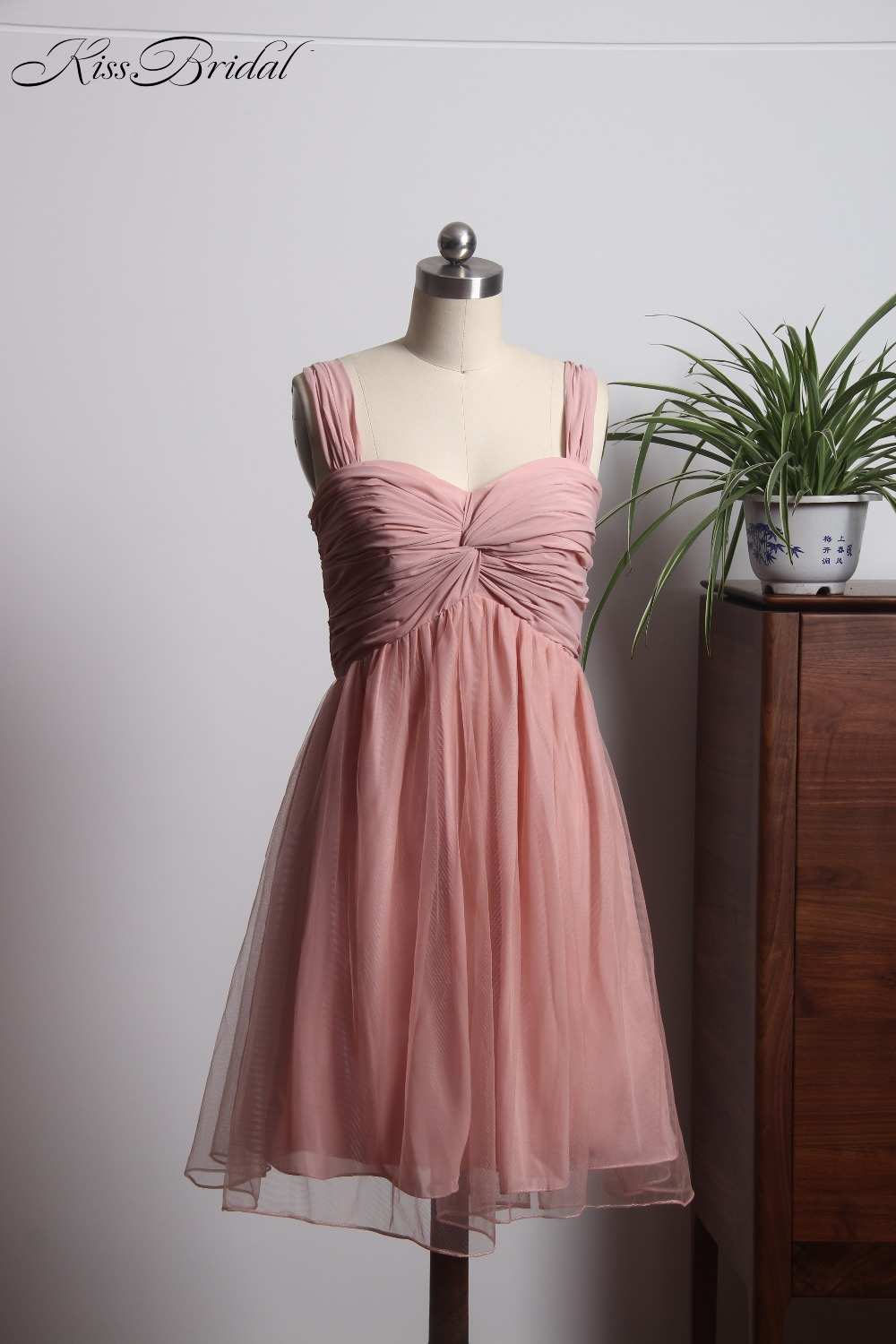 Stunning Sweetheart   Bridesmaid     Dresses   Short Mini Chiffon   Dress   For Wedding Party demoiselle d'honneur femme