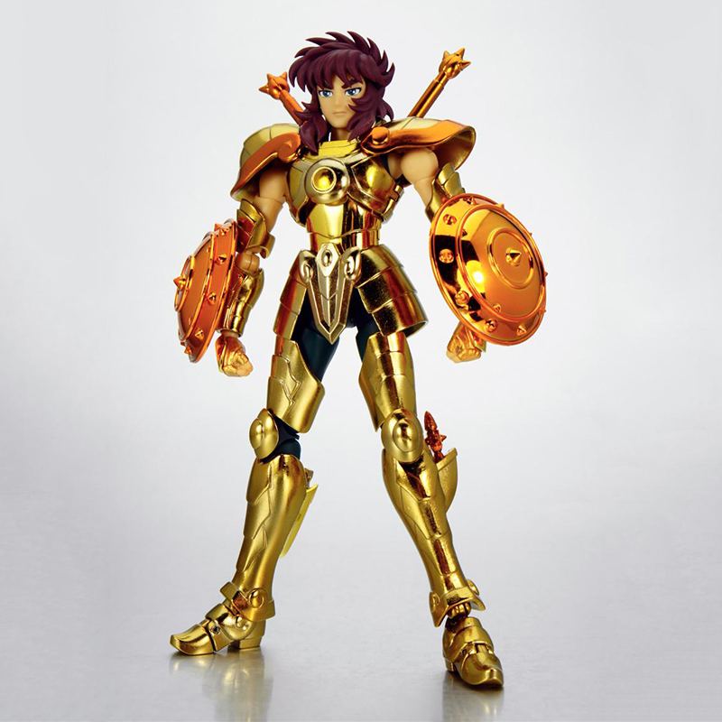 18cm Anime Saint Seiya Gold Saint Libra Dohko Action Figures EX 2.0 Cloth Myth Metal Armor Model Toys cmt aurora model cs model saint seiya oce ex libra dohkor action figure cloth myth metal armor