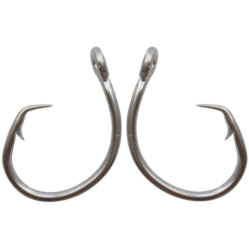 5pcs Tuna Circle Fishing Hook Stainless Steel Big Game Saltwater Hook 11 0 12 0 13 0 14 0 15 0 16 0 420 Stainless Steel in Fishhooks from Sports Entertainment