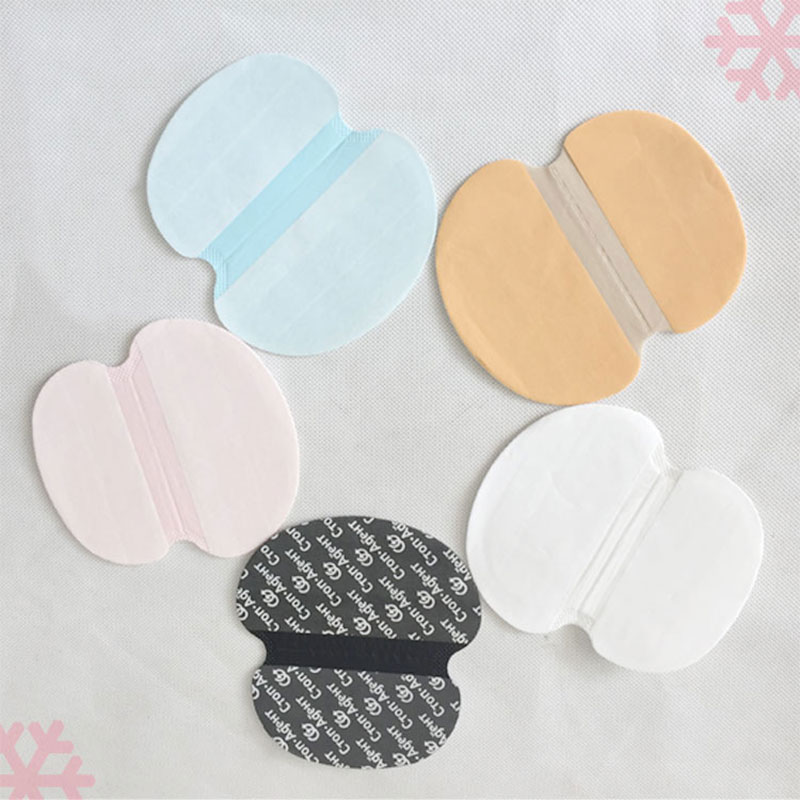 30pcs/Lot Disposable Armpits Sweat Pads Underarms Gaskets From Sweat Absorbing Pads Deodorants Women Man Armpit Linings
