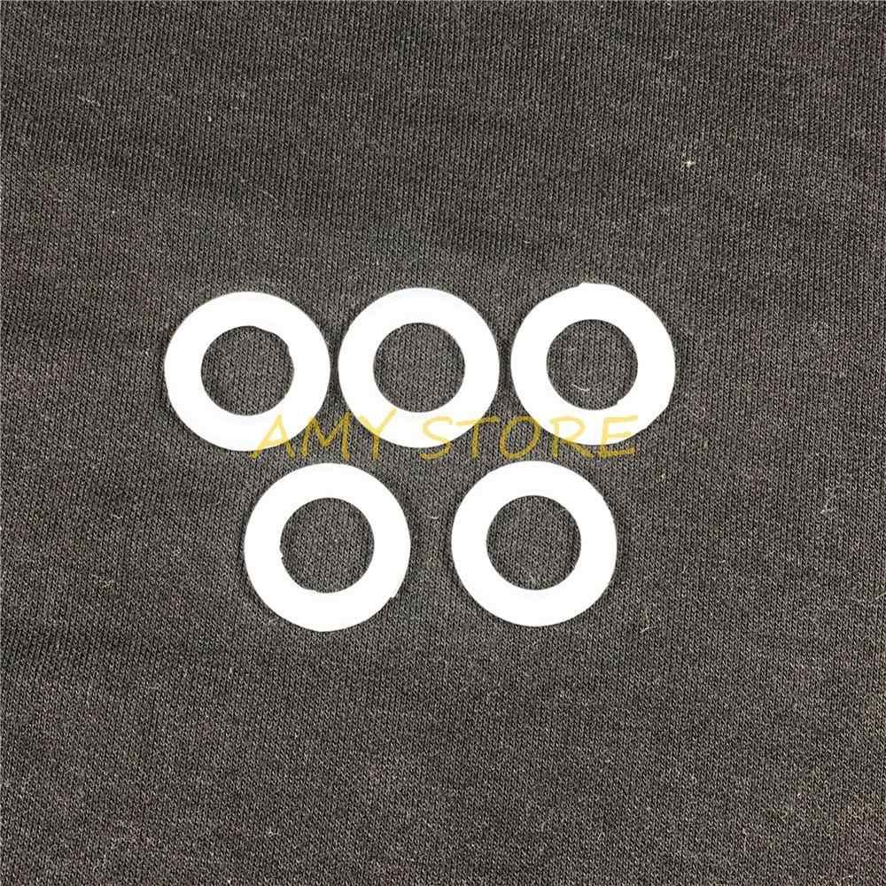 """ซิลิโคนซีลสำหรับ 38 มิลลิเมตรท่อ O/D สุขาภิบาล Fit 1.5 """"Tri Clamp แถบแหวนปะเก็นเครื่องซักผ้าสำหรับ Homebrew ด้านนอกเส้นผ่านศูนย์กลาง 50.5 มิลลิเมตร"""