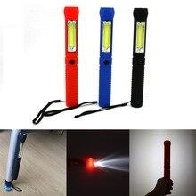COB LED Mini Pen Multifunction led Torch light cob Handle work flashlight cob Work Hand Torch Flashlight Use 4*AAA batteries