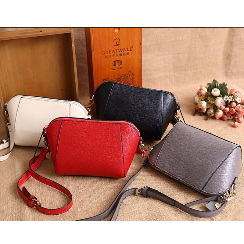 New Fashion Genuine Cow Leather Women Small Bags Handbags Ladies Shoulder Bag Femal Real Leather Crossbody Bag Shell Satchel Bag new style fashion genuine leather women bag retro cow leather small shoulder bags top grade all match mini women crossbody bag