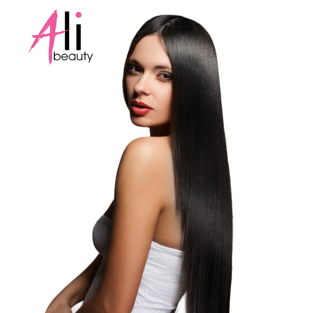Ali Beauty 14 Inches Clip In Human Hair Extensions 70g 6pieceset