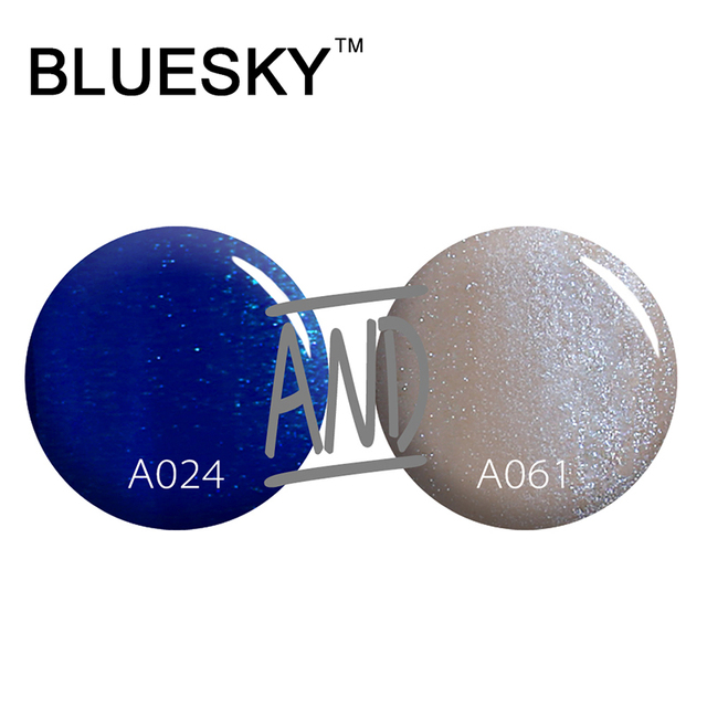 Bluesky A024 A061 New Global Fashion Autumn Colors Gel Lacquer Top Popular Gel Nail Polish