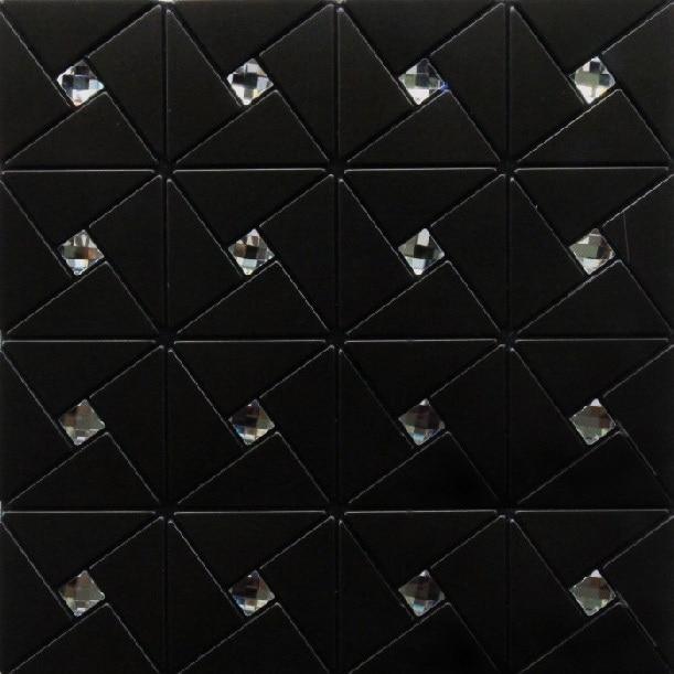 Negozio online moderna cucina nera backsplash tile bathroom wall ...