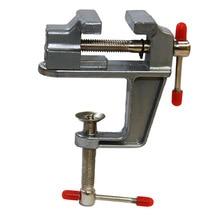 Мини-настольные тиски с зажимом для ювелиров, любителей рукоделия, модель здания для вращающегося инструмента Dremel
