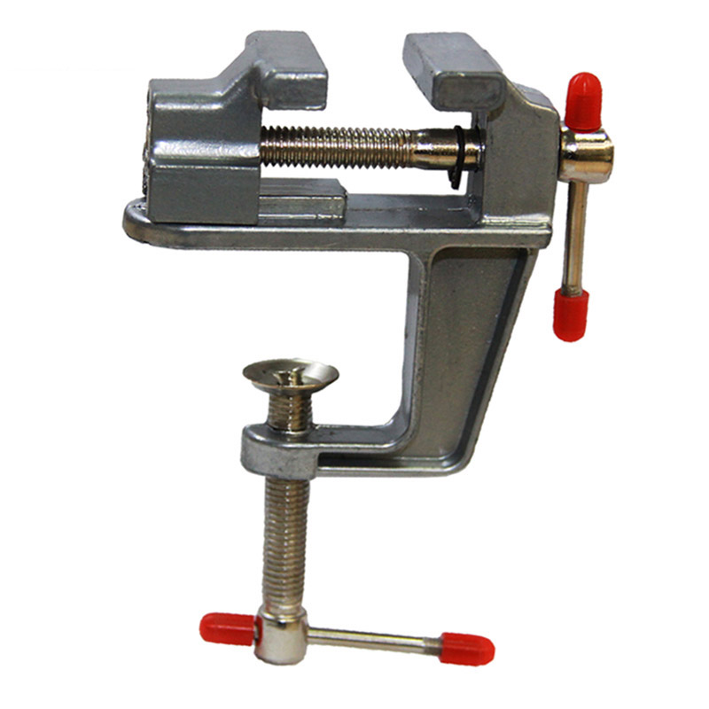 Mini Table Vise With Clamp For Jewellers Hobbyists DIY Crafts Model Building For Dremel Rotary Tool