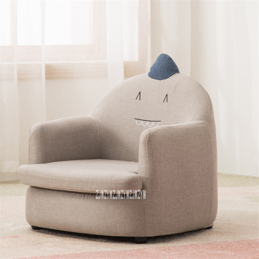 S106 Modern Comfortable Children's Sofa Living Room Baby Sofa Bedroom Cute Creative Reading Sofa Kid Bean Bag Optional Cloth/PU