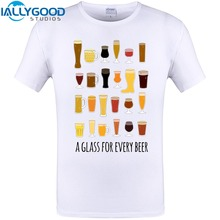 "Awesome ""A Glass For Every Beer"" t-shirt"