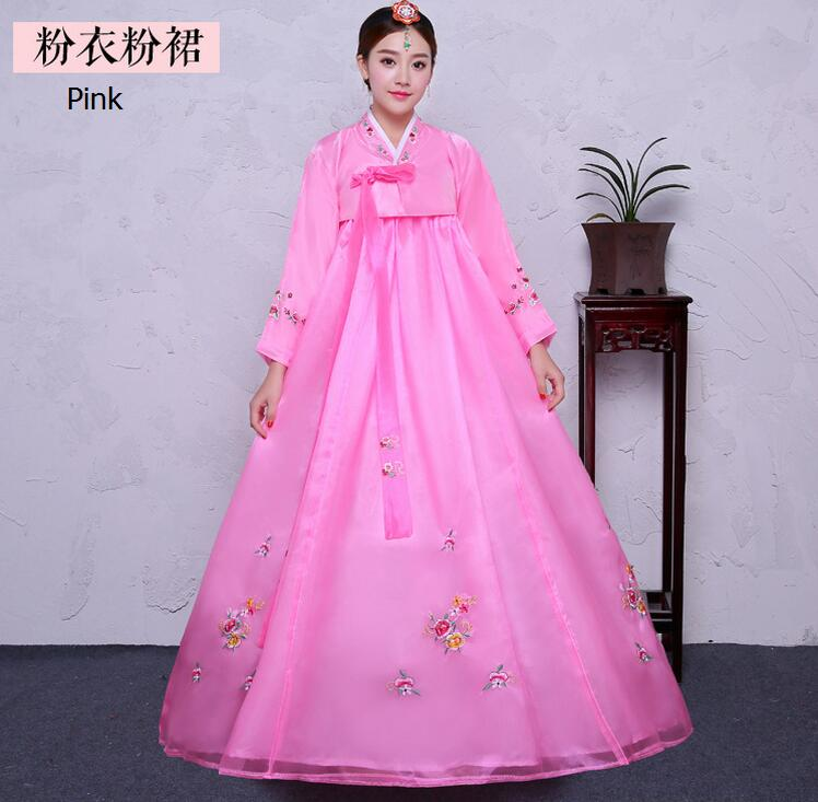 Famoso Vestido De Novia Hanbok Coreano Ornamento - Ideas de Vestido ...