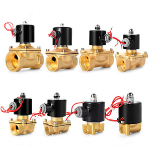 """Image 4 - Free Shipping Hot New 1/4"""",1/8"""",1/2"""",3/4"""",1"""",2"""", AC220V,DC12V/24V Electric Solenoid Valve Pneumatic Valve for Water Oil Air Gas"""