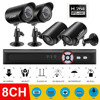 Portable Waterproof Network Camera 8CH Home Security System CCTV System AHD Surveillance Kit Universal 1080P Camera